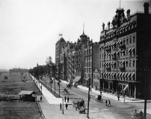 Michigan Ave 1888