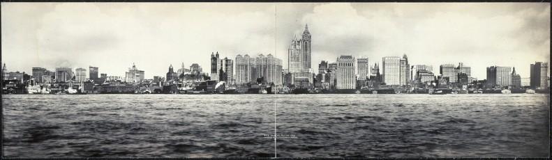 New York Skyline 1908