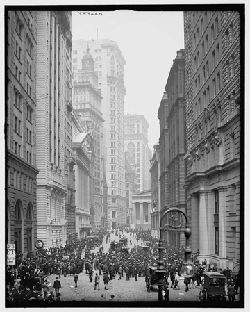 the-curb-market-was-the-precursor-to-the-american-stock-exchange-before-1921-traders-did-business-at-a-curbside-market-on-broad-st-this-is-a-photo-from-1905