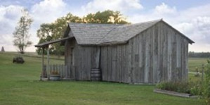 Ingalls DeSmet Homestead replica