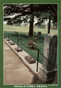 Ingalls graves postcard