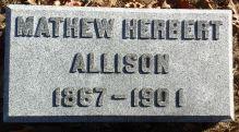 Matthew Herbert's Grave